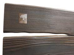 posteľ z masívu olej grafit