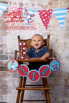 1st birthday, baby boy, dr suess theme, photography, portraits @Wendy Ewing
