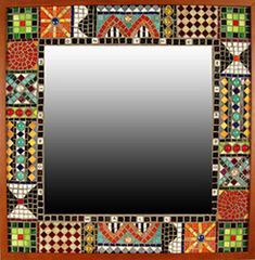 Mosaic Artists Gallery Photos of Mosaic Mirrors - Showcase Mosaics