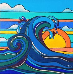 Morning Sun Artwork contemporary originals and limited editions