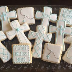 First Communion Cookies | a sweeter place