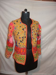 Hey, I found this really awesome Etsy listing at https://www.etsy.com/listing/228598918/vintage-hand-kutch-embroidery-indian-top