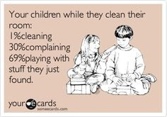 Kids Cleaning their Room Cartoon - So Funny!  http://www.stockpilingmoms.com/2012/09/pinterest-daily-pin-kids-cleaning-their-room/