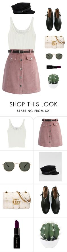 """Call it what you want."" by greciapaola ❤ liked on Polyvore featuring 3.1 Phillip Lim, Chicwish, Ray-Ban, ASOS, Gucci, Acne Studios and Smashbox"