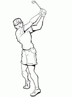 Dibujos Golf Para Colorear Bart Simpson, Embroidery Patterns, Fictional Characters, Sports, Sports Drawings, Easter Colouring, Free Coloring Pages, Golf Painting, Name Pictures