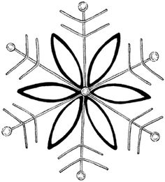 snowflake embroidery pattern Snowflake Embroidery, Christmas Embroidery, Cross Stitch Embroidery, Embroidery Patterns, Christmas Graphics, Christmas Art, Christmas Ideas, Cool Ideas, Gingerbread Ornaments