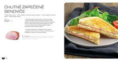 Zapečené sendviče, recept Tefal Uniflex