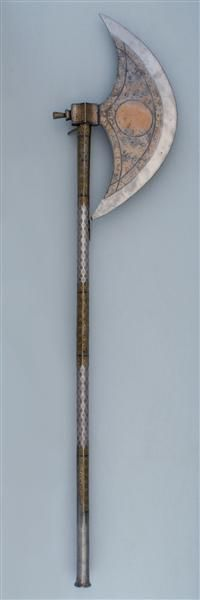 I think I need and DESERVE one of these.  Axe; Mamluk, early 16th century  Staatliche Kustsammlung Dresden