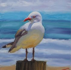 View Seagull by Elena Sokolova. Browse more art for sale at great prices. New art added daily. Buy original art direct from international artists. Shop now