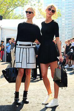 De mis favoritas, Karlie Kloss, New York Fashion Week primavera verano 2014.