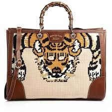 Image result for gucci needlepoint bamboo shopper tote