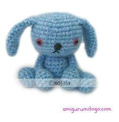 www.amigurumitogo.com: Baby Bunny Leeloo Free Crochet Bunny Pattern