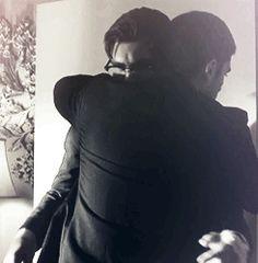 Seth and Richie hug