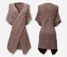 Resultado de imagen para modne swetry damskie na drutach