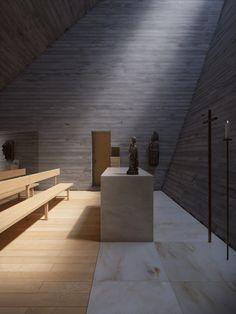Chapel in Switzerland by Joaquim Portela Arquitetos