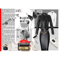 """black vs white"" by sdiana-1 on Polyvore"