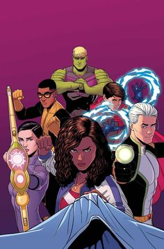 The Paperback of the Young Avengers Volume Mic-Drop at the Edge of Time and Space (Marvel Now) by Kieron Gillen, Jamie McKelvie Avengers Comics, Marvel E Dc, New Avengers, Marvel Heroes, Marvel Universe, Children's Comics, Loki Marvel, Captain Marvel, Avengers Series