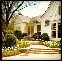 Love the architecture, colors, and landscaping & hardscape.