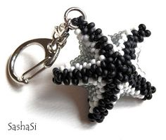 art, crafts and beads: Sea Star Beading Tutorial