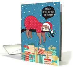 41 Awesome Sloth Gifts for Christmas | Sloth, Gift and Animal
