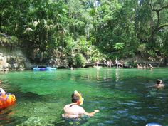 Swimming area at Blue Spring State Park, Orange City, FL  http://visitwestvolusia.com/whattodo.cfm/mode/parksstate