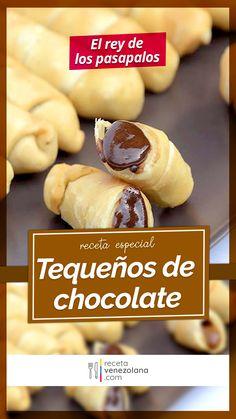 Hispanic Desserts, My Favorite Food, Favorite Recipes, Venezuelan Food, Wonton Recipes, Empanadas, Chocolate, Catering, Brunch