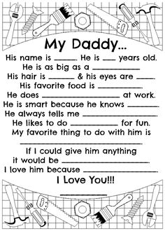 Fathers Day, for Daddy :)