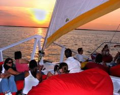 sunset cruises on lake lewisville texas special event