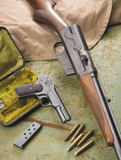 "cerebralzero: ""Remmington Model 8 and Browning/FN Model 1900 """