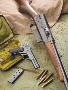 "cerebralzero: ""Remmington Model 8 and Browning/FN Model 1900 """
