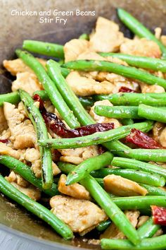 Chicken and Green Beans Stir Fry by rotinrice:  Quick, easy, and tasty. Can't get better than that. #Chicken #Green_Beans #Stir_Fry