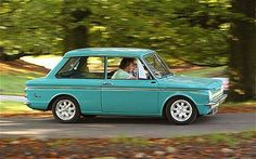 Hillman Imp - the first new car my dad ever bought