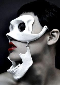 haute goth mask