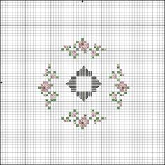 Flores no Jardim - Lee Albrecht: Free Hardanger pattern
