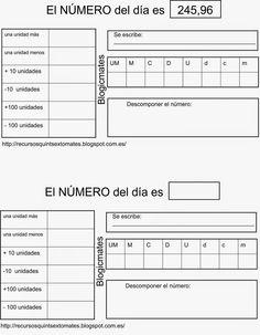 BLOGICMATES: Nº DEL DÍA
