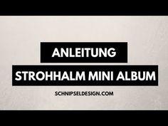Strohhalm-Mini-Album | schnipseldesign
