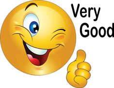 Thumbs Up Smiley Emoticon Clipart