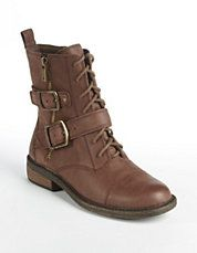 Shoes | Short Boots & Booties | Troopa Lace-Up Boots | Lord and Taylor