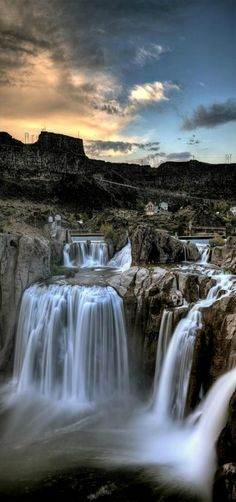 Shoshone falls, twin falls, idaho -check!                                                                                                                                                                                 More