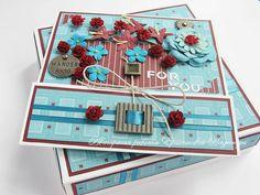 Amazing cards ♥ Необыкновенные открытки и коробочки к ним от  Naiados (Надежды Яршенковой)
