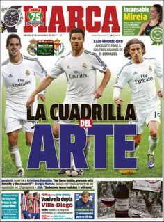 Los Titulares y Portadas de Noticias Destacadas Españolas del 30 de Noviembre de 2013 del Diario Deportivo MARCA ¿Que le pareció esta Portada de este Diario Español?