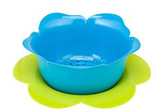 Love this idea of a Colander! Rose Colander & Dew Set. Blue/Green from One Kings Lane. $9.00