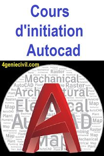 Trouvez ici une formation autocad d'initiation en Autocad. #autocad #formationautocad #coursautocad #geniecivil #btp Plan Autocad, 3d Autocad, Autocad 2015, Planning Excel, Civil Engineering Design, Online Courses With Certificates, Initiation, Civilization, How To Plan