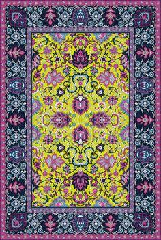 Скачать - Подробные векторные персидский ковер — стоковая иллюстрация #3853138