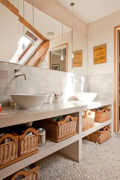 Construction Contracts: How to Understand What You Are Buying Contemporary Bathroom by Yves Mahieu - SPOUTNIK architecture