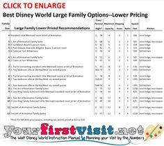 Large Family Lower-Priced Options at Walt Disney World - The Walt Disney World Instruction Manual --yourfirstvisit.net