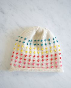 Button Candy Hat   Purl Soho