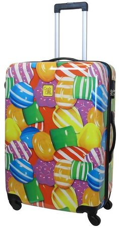 Candy Crush Canin Bag Close Up Candy Large