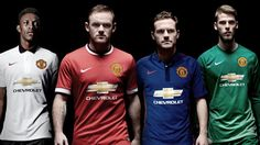 United reveal blue third kit for 2014/15 season - Official Manchester United Website