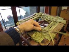 Rush Seating a Chair with Natural Water Rush - YouTube